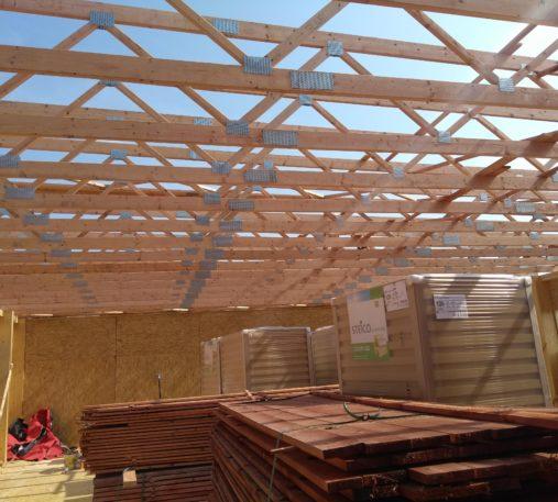 Nadstavba z dreva pre tanečnú školu VIVA